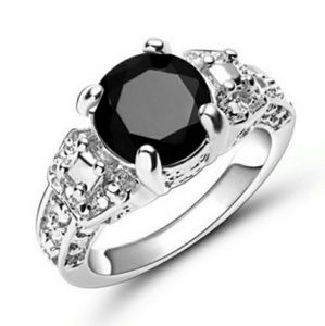 Jewelry - 18K White Gold Filled Dazzling Black